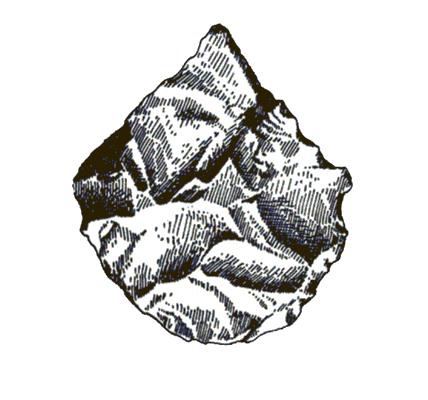 Кремени шиљци, Пећина Рисовача