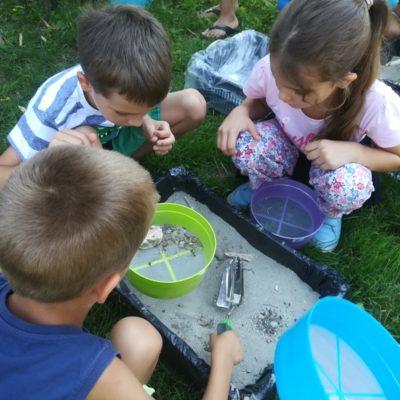 muzejsko dečje leto, istraživači, paleontologija, pećina Risovača, ledeno doba